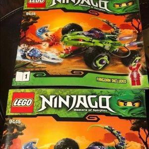 LEGO Ninjago Instruction Manual ONLY